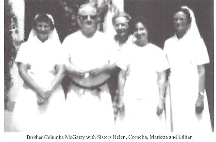 History of Catholic Diocese of Sokoto brother columba with sisters.jpg
