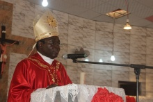 """The worst form of corruption is the denial of the right and identity of other people"" - Bishop Kukah"