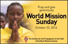 The Universal Church celebrates Mission Sunday 2016